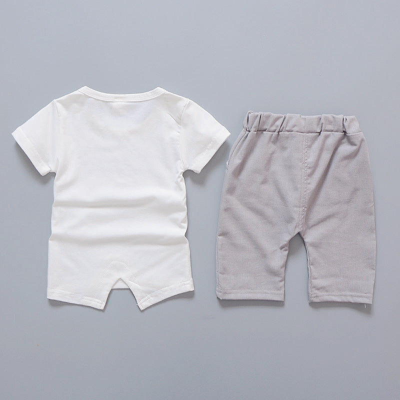 c8d136988 2018 Baby Boy Clothes Summer Brand Infant Clothing Elephant Short Slee –  Beal | Daily Deals For Moms