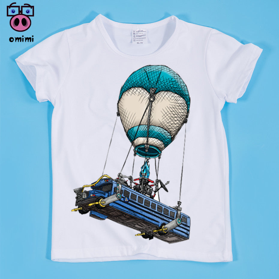 27f3b08be 2018 Casual Short Sleeve Fortnite Children T Shirt Kids Comfortable T-shirt  Boy and Girls Funny Clothes – Beal | Daily Deals For Moms