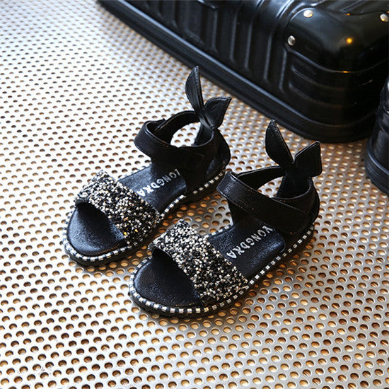 051a9fbab 2018 Hot Sale Baby Girl Sandals Fashion Bling Shiny Rhinestone Girls ...