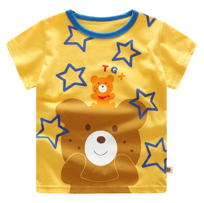 181431c4ba718 2018 New Baby Boys Girls T-shirt Summer Newborn Baby Clothing Kids Tees  T-Shirt Short Sleeve