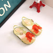 2018 New Kids Mini Melissa Jelly Sandals For Baby Girls ice cream Children Summer Cute Cartoon
