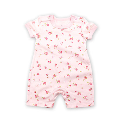 4b6058529b394 2018 New baby rompers Newborn Infant Girl Summer clothes Cute Cartoon  Printed Romper Jumpsuit Climbing Clothes
