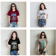 2018 New fashion short sleeve t shirt women summer letter print t-shirt female casual o neck high quality t shirt women cotton