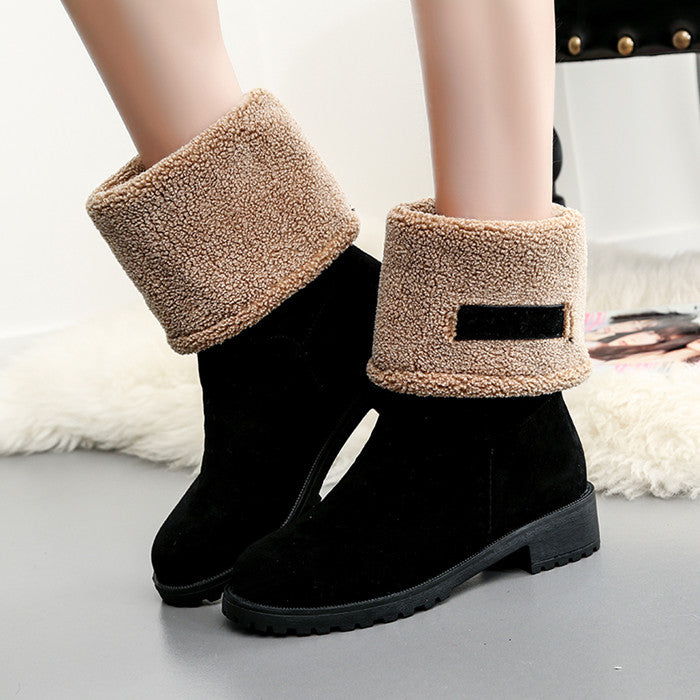 2018 New for cold winter snow Boots