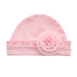 2018 Newborn Baby Girls Infant Flower Hat Soft Cotton Beanie Hat for Toddler Baby Girl Boy Child