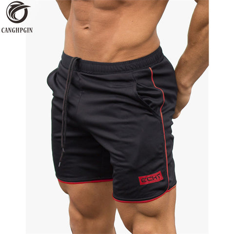 2018 Summer Sport Shorts Men Fitness Crossfit Sweatpants Compression Short Pants Underwear Mens Gym Cotton Run Jogging Shorts