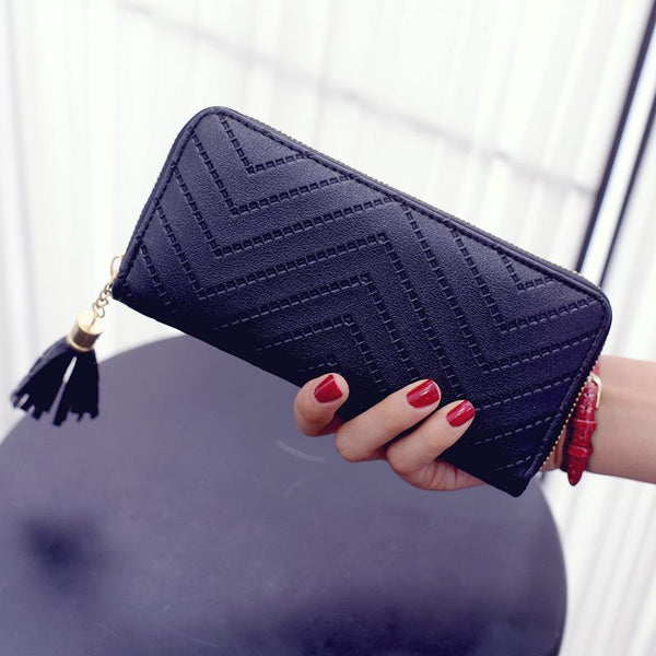2018 Tassel Pu Women Wallet Fashion Girl women's purse Designer Best Phone Wallet Female Case