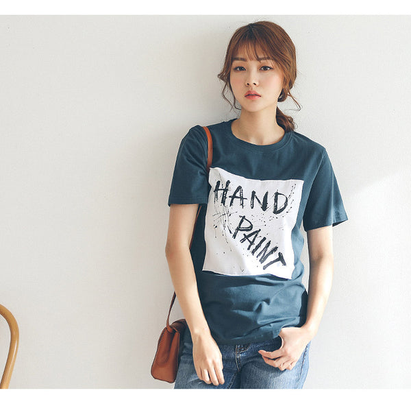 2018 casual women tshirt short sleeve women tshirts with prints letter summer t-shirt female t-shirt women cotton female tops