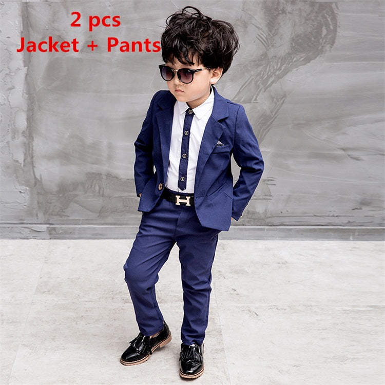 Suits For Wedding.2018 Miaoyi New Children Suit Boys Suits Kids Blazer Boys Formal Suit For Wedding Boys Clothes