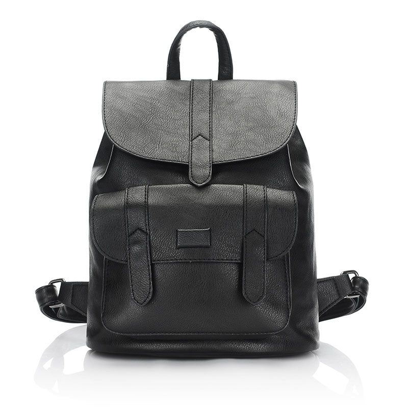7969ffea3116 3157 fashion women leather backpack for teengaers girls famous designer  cute school bags ladies