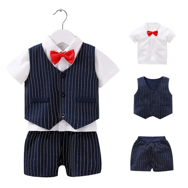 Cotton Gentleman Baby Suit