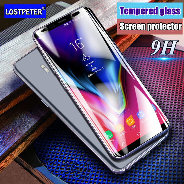 3D Curved Full Cover 9H Tempered Glass For Samsung Galaxy S8 S8 Plus Screen Protector Film For Samsung Note 8 Glass Protective