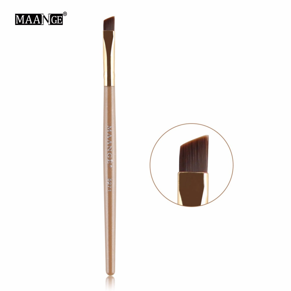 50 piece/pack Quality Disposable Eyebrow Power Comb Eyes Brow Wands Makeup Brush Applicator Tool