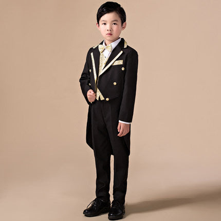 5pcs High Quality 2016 Baby Boys Kids Blazers Boy Suit For Weddings Prom Formal Sequin Dress Wedding Performance Clothing Suits Beal Daily Deals For Moms,Attractive Wedding Dresses For Girls 2020 Pakistani