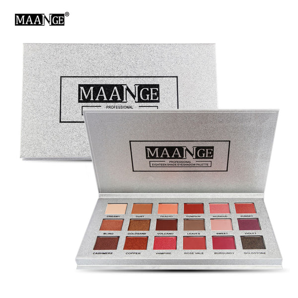 9/12/14/18 Colors Eyeshadow Palette Shimmer Matte Pressed Glitters Pigment Shiny Diamond Eye Shadow