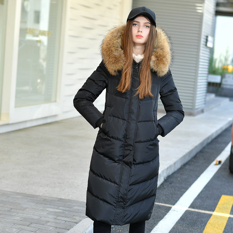 7fd9e82a2c2a6 90% White duck down Coats 2018 New High-End Brand Ladies Winter Warm ...