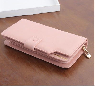 APP BLOG Luxury Brand female Women's Purse Long Fashion Clutch Leather Wallet High Quality