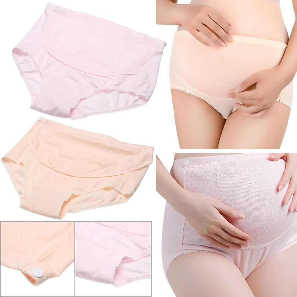 99468db311b6 Abdomen Adjustable High Waist Belly Support Panties Maternity Soft Cotton  Pregnant Women Underwear For Mother Best Gift – Beal | Daily Deals For Moms