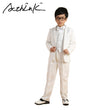 ActhInK Floral Boys 6PCS Vest+Blazer+Pant+Shirt+Bowtie+Belt Dress Suits Brand Gentle Boys Formal