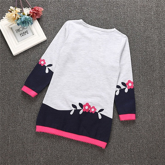 Autumn Winter Children Jackets Cartoon Girls Hoodies Outerwear Thicken kids Coat Fashion Baby