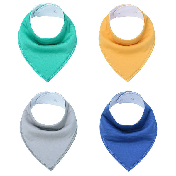 Baby Bandana Bibs Cotton Baby Stuff for Newborn Feeding Baby Scarf Babador Bebe Burp Cloths Babe Smock Baby Napkin Things