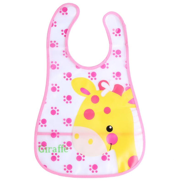 Baby Bibs Girl Boy Waterproof EVA Cartoon Saliva Towel Toddler Kids Dinner Feeding Bibs Bandanas Burp Cloths Baby Clothing