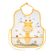 Baby Bibs Infant Burp Cloths  Toddler Scarf Feeding Smock Long Sleeve Waterproof Coverall Baby