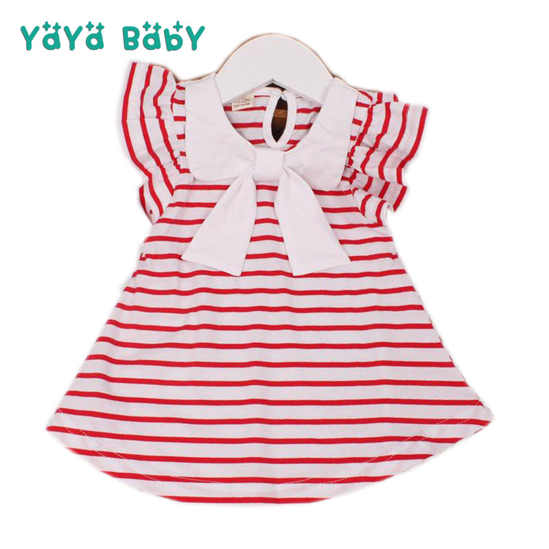 fd16463605542 Baby Dress 2018 New Summer Kids Dresses for Newborn Girls Casual Striped  Baby Girl Clothes Infant Princess Birthdays Clothing