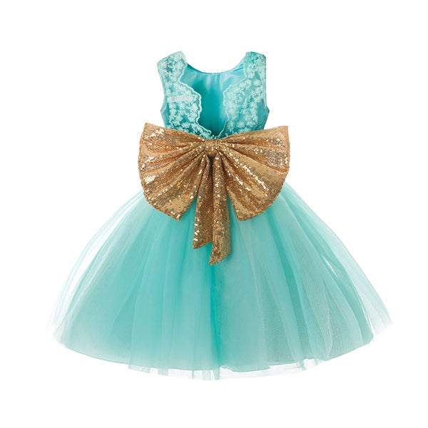 Baby Girl Dress Kids Wear Sequins Backless Children Princess Party Dress for Girls Clothes 1 2 3 4