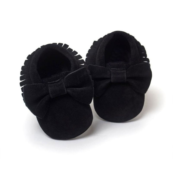 Baby Girls Shoes First Walkers Newborn Baby Moccasins Soft Boy Girl Fringe Soft Soled Non-slip