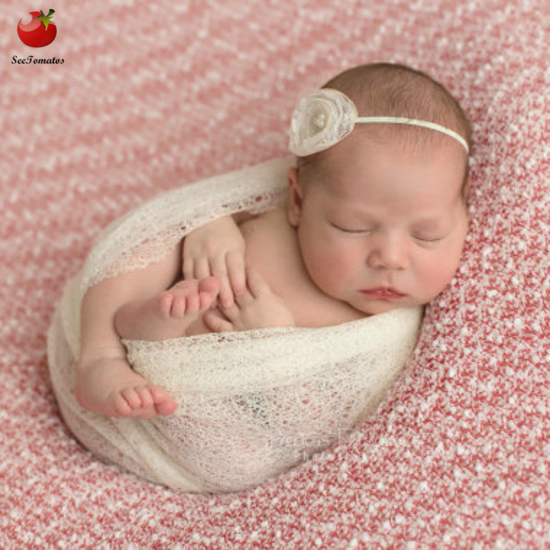 54fa18d9d08e9 Baby Newborn Photography Props Baby Costume Outfit Cotton Photos Wrap Girls  Baby Photo Props Wrap