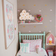 Baby Nursery Little Cloud Wall Stickers Clouds Wall Decal Children Room Wall Sticker Kids Room Easy Wall Art Home Decoration