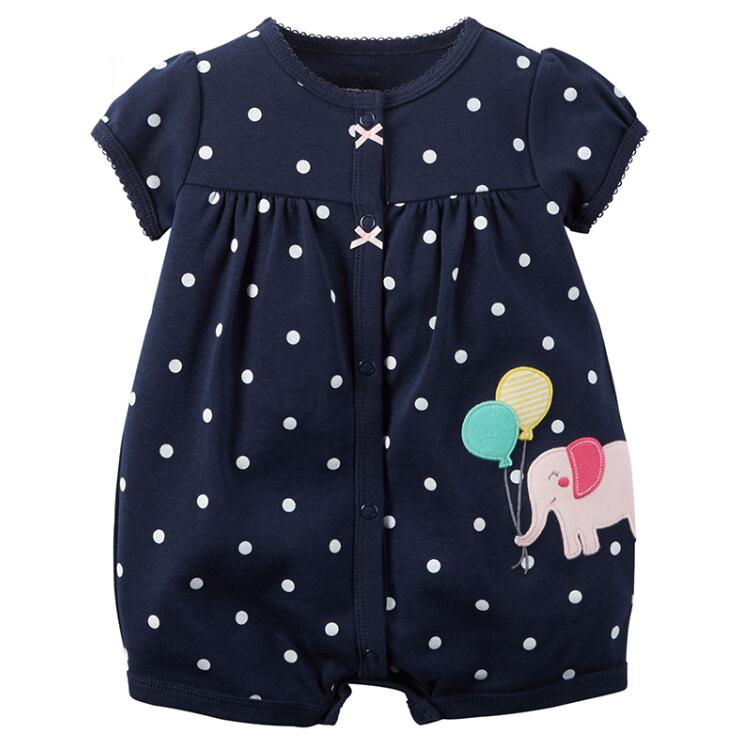 f0e61fb9babb Baby Rompers Summer Baby Girls Clothing Cartoon Newborn Baby Clothes ...