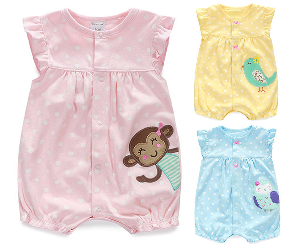 0d51280b1c33 Baby Rompers Summer Baby Girls Clothing Cartoon Newborn Baby Clothes R –  Beal