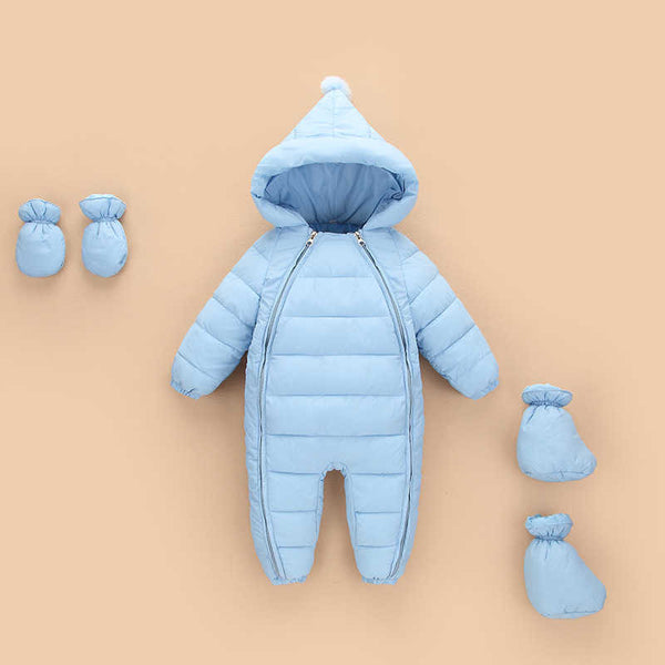 Baby Siamese climbing clothing in autumn and winter 2016 new children's thick cotton