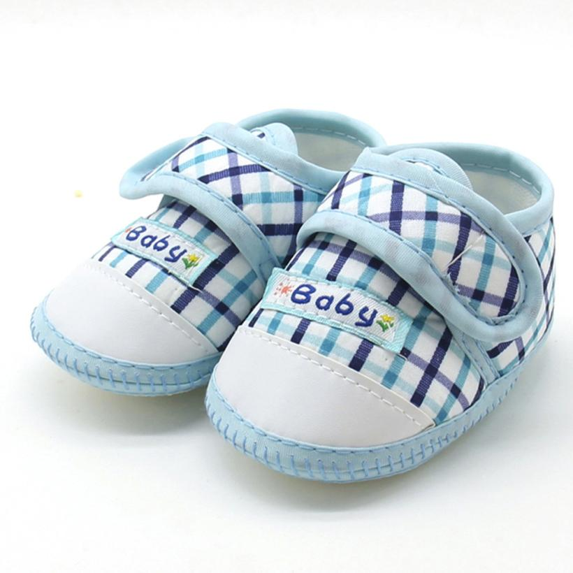270d503ae2b45 Baby shoes newborn Baby Boys Girls Soft Sole Prewalker Warm Casual Flats  Shoes Cotton Fabric