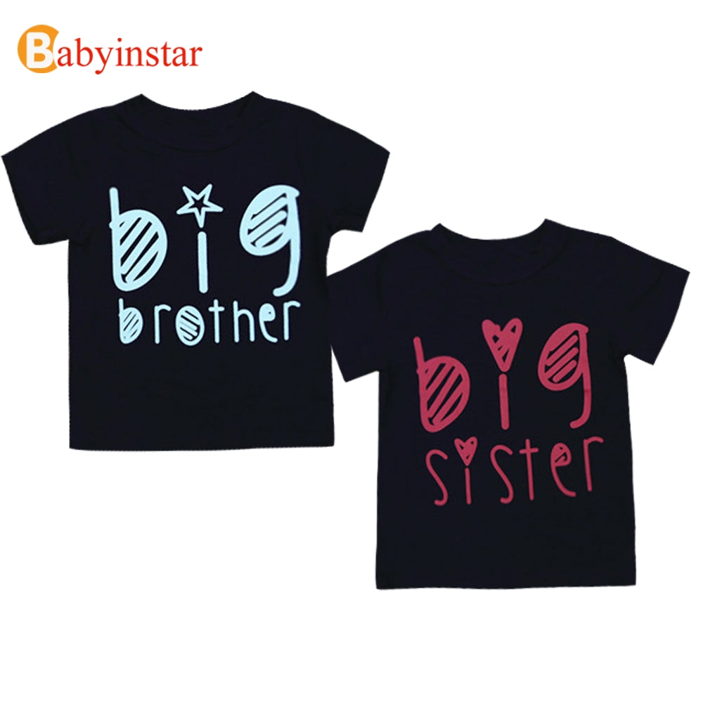 f94d6841a Babyinstar Family Matching Outfits Sisters Brother T-shirts 2018 Summe –  Beal | Daily Deals For Moms