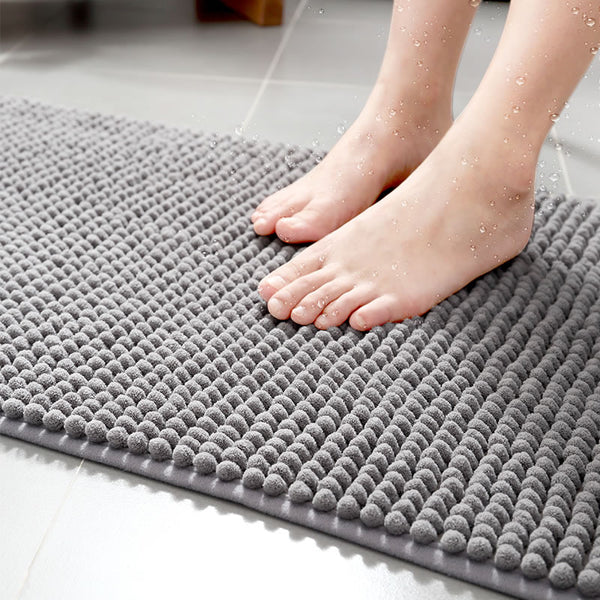 Bath Mat Microfiber Mat In Bathroom Bath Mats Bathroom Carpet Soft Mat For Tiolet Absorbent