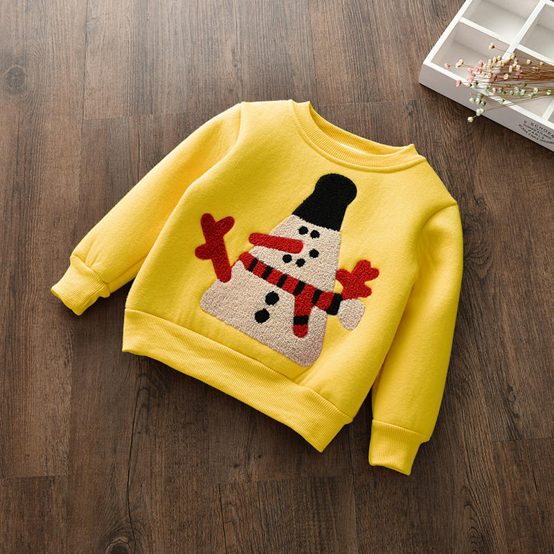 6fcfb124ed42 BibiCola infant Girls toddler Girls Sweater Clothes kids thick ...