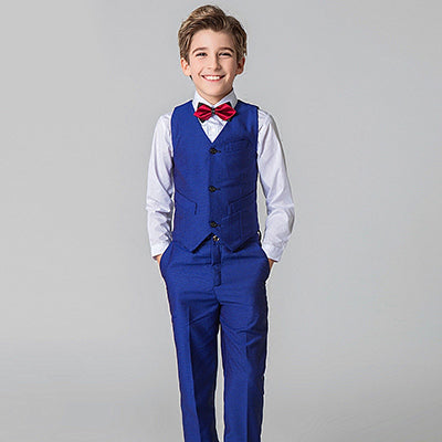Boy suits British big children flower dress performance service chair suit  jacket Boys Suits For Weddings Costume Garcon Meninos – Beal  7c9d650b2ed4