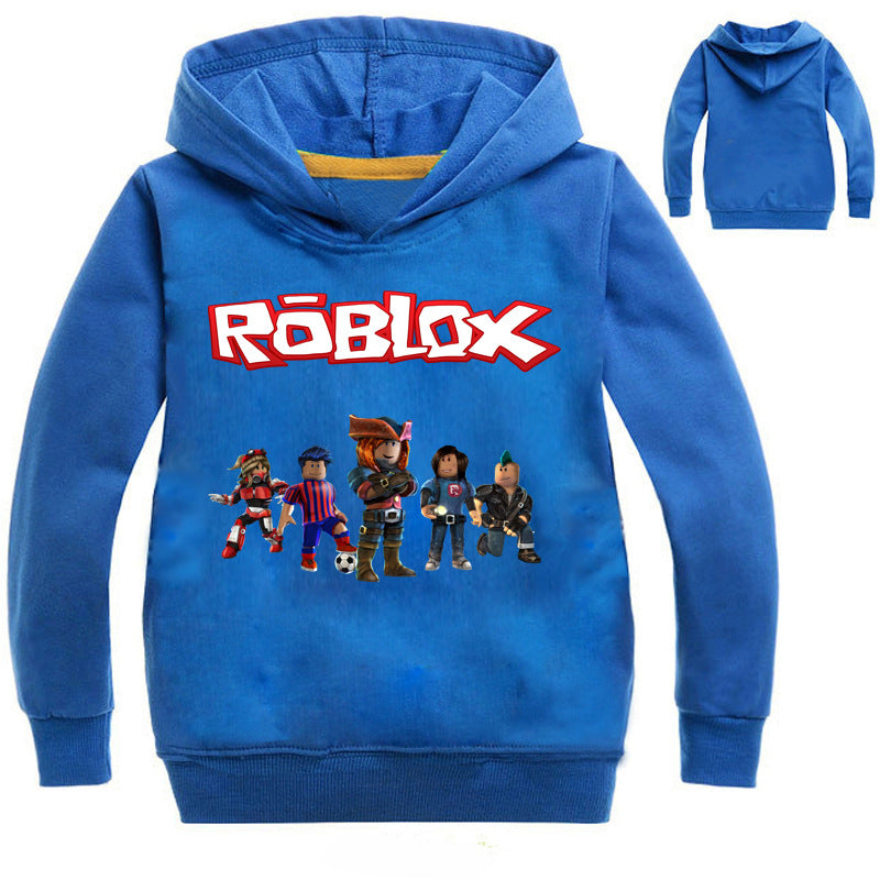 Boys Amp Girls Cartoon Roblox T Shirt Clothing Red Day Long