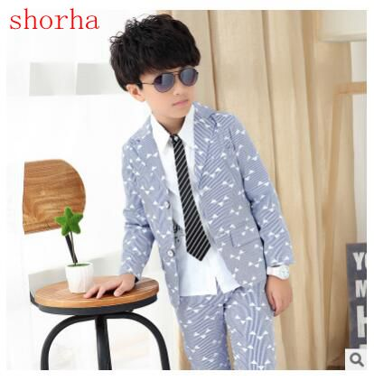 Boys pink Blazer 2 pcs/set Wedding Suits for Boy Formal Dress Suit Boys wedding suit Kid Tuxedos