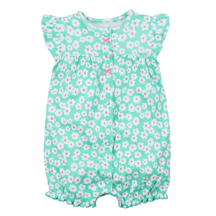 8607f3d49453 Brand 2018 Summer Baby Rompers Short Sleeve Baby Girls Clothing Kids ...