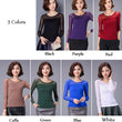Candy Color Spring Autumn Blusas Femininas 2016 New long Sleeve Mesh Blouse Women Tops Plus Size O Neck Thin Basic Shirt Top A24