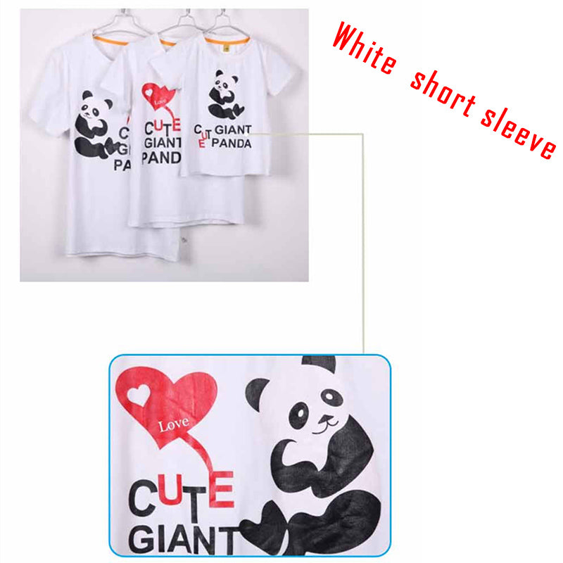 293364fc3 Cartoon Cute Panda Family Matching Outfits Summer Mother Kids Cozy Cot –  Beal | Daily Deals For Moms
