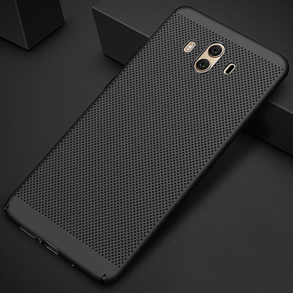 buy popular 63b7e a58f4 Case for Huawei Mate 10 Pro Case for Huawei Mate 10 lite Phone Cases Back  Heat Dissipation Hard PC Cover Mate 10 lite Cases