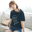 Casual t-shirt women short sleeve tees t-shirt women 2018 t-shirt female print o neck black white t shirt women summer t-shirt