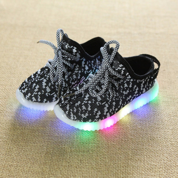 Children Luminous Glowing Shoes with Led Light Up Shoes Sneakers Toddler Boys Girls Shoes Led