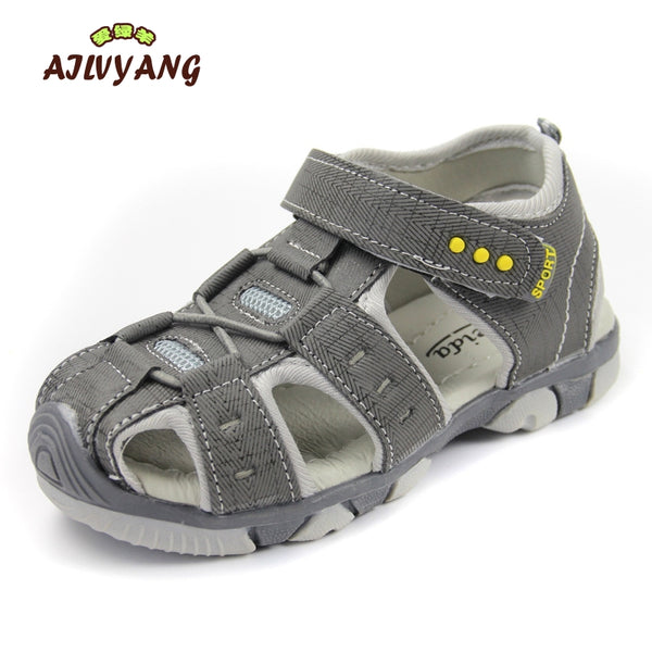 Children Summer Sandals Kids Shoes Closed Toe Sandas For Boys Girls Toddlers Soft Bottom Comfortable Sandal Boys Sports Shoes