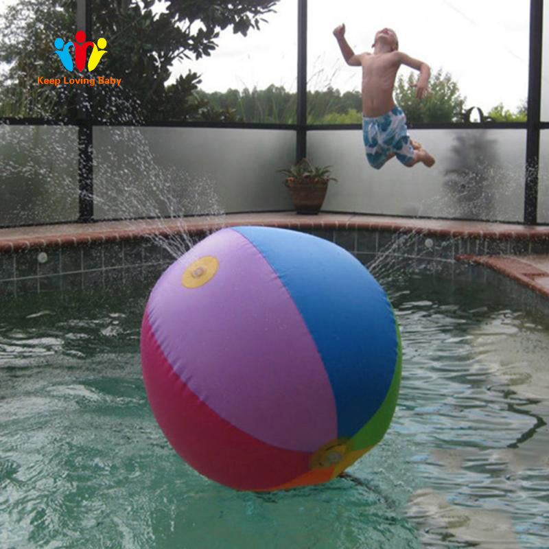 Children Swimming Pool Accessories Wading Kids Squirt Fun Pool Outdoor  Splash Water Spray Water Ball Baby Swimming Accessories